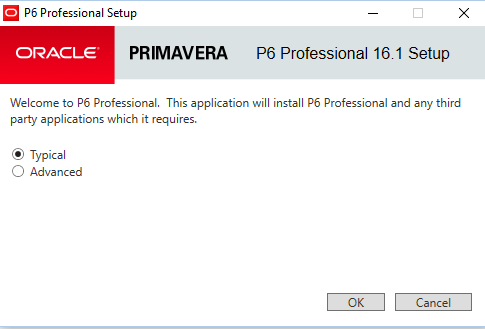 How to install Primavera P6 Professional 16.1Stand-alone
