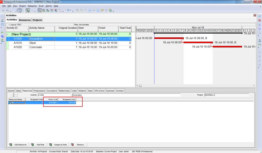 How does Resource Shift Calendar in Primavera P6 work - 10