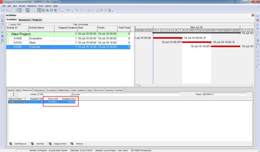 How does Resource Shift Calendar in Primavera P6 work - 12