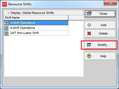 How does Resource Shift Calendar in Primavera P6 work - 7