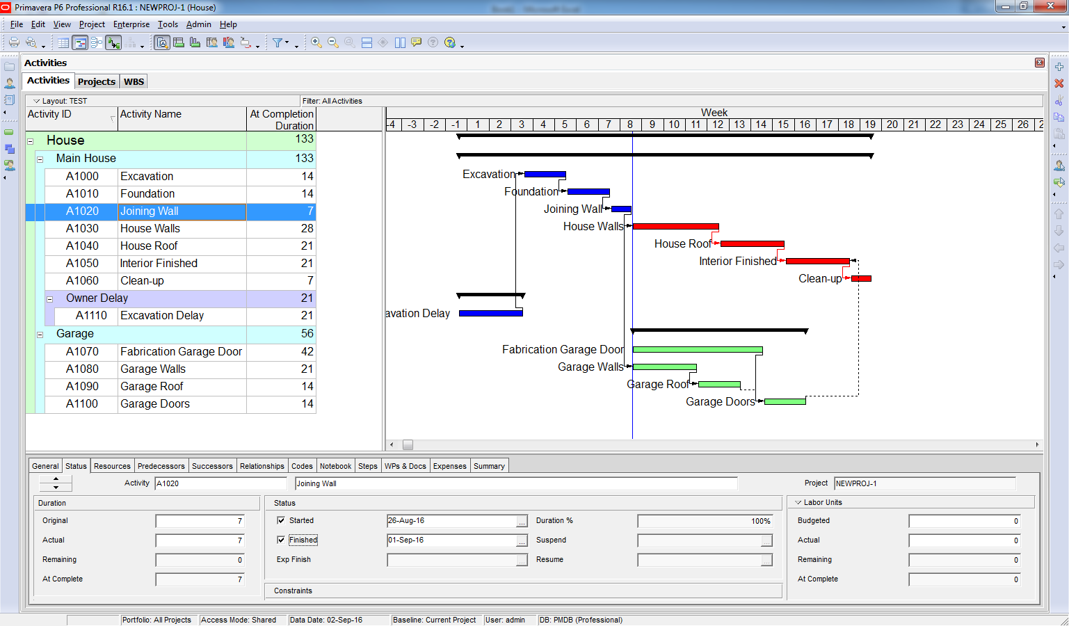 How To Perform Time Impact Analysis Window Analysis In Primavera P6   6