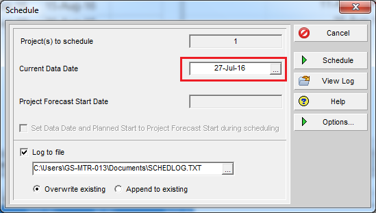 How to remove actual progress from Primavera P6 schedule - 9