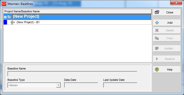 How Baseline Dates are calculated in Primavera P6 - 2