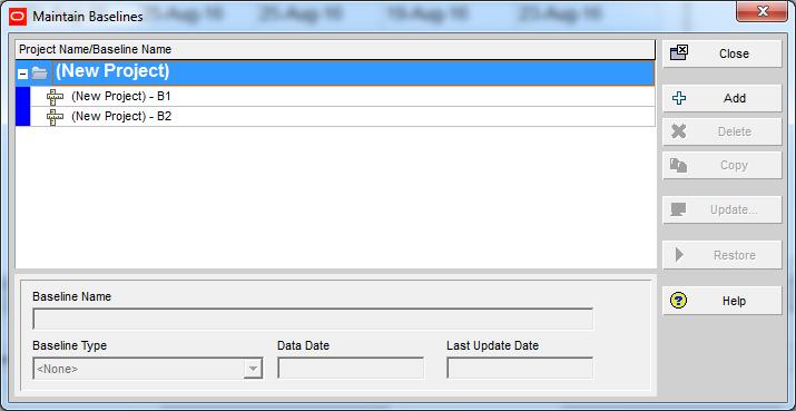 How Baseline Dates are calculated in Primavera P6 - 6