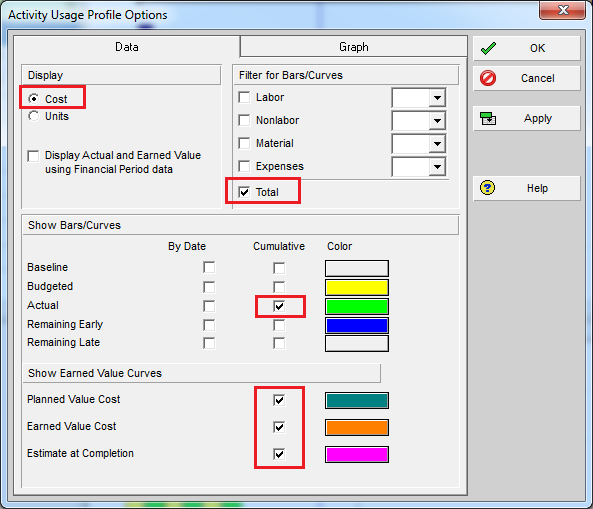 How to use Earned Value Management in Primavera P6 - 14