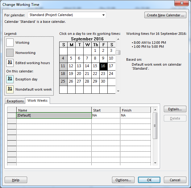 how to edit project calendar in microsoft project  u2013 do duy