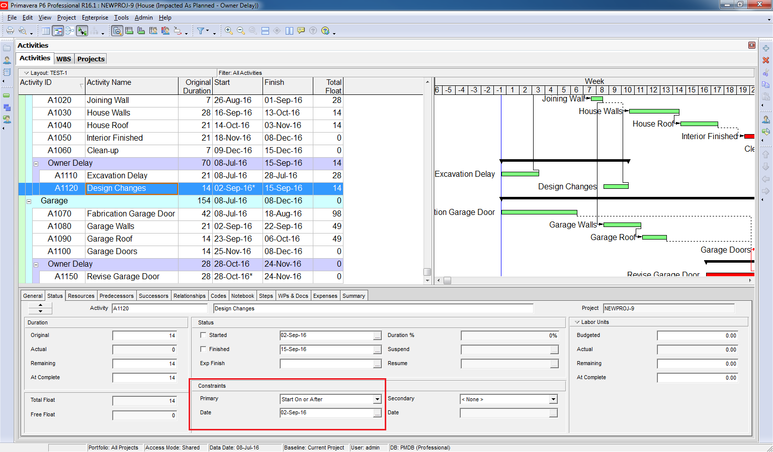 How to perform impacted as planned delay analysis in primavera p6 how to perform impacted as planned delay analysis nvjuhfo Gallery