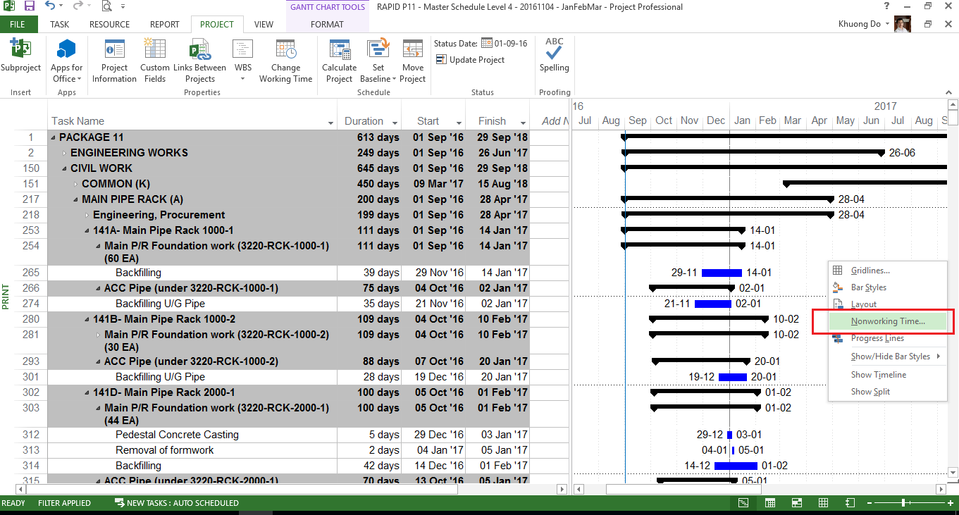 Ms Project Gantt Chart Zrom