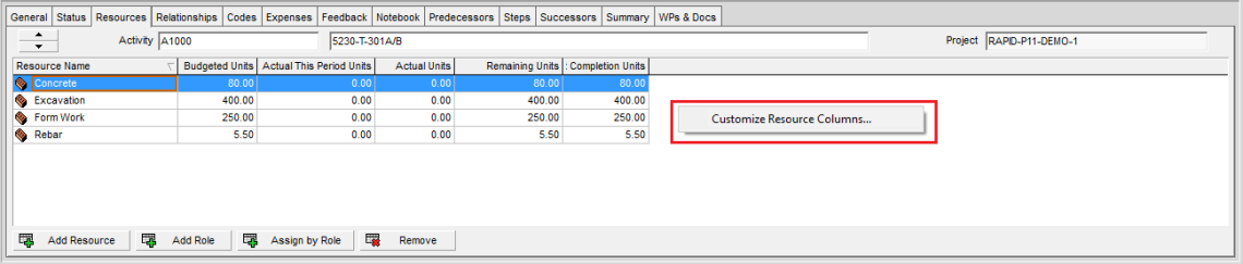 How to assign resource, resource loading, make resource plan in Primavera P6-18