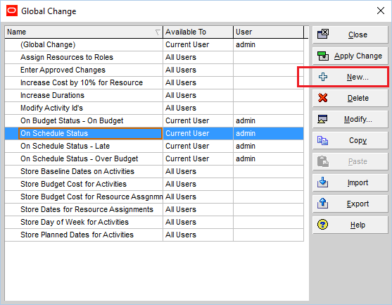 How to quickly identify Behind Schedule and Over Budget activity by Indicator UDF in Primavera P6-4