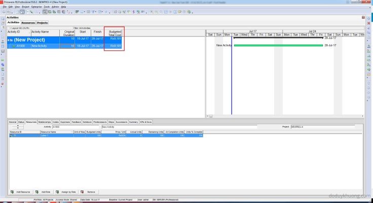 How to change currency in Primavera P6 and How is data stored when using multiple currencies-8
