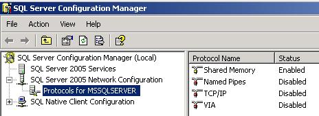 Primavera P6 Professional Unable to connect to the database error-2.jpg