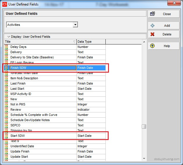 Change 5 Day Workweek to 7 Day Workweek but keep Project Finish Date unchanged in Primavera P6-8