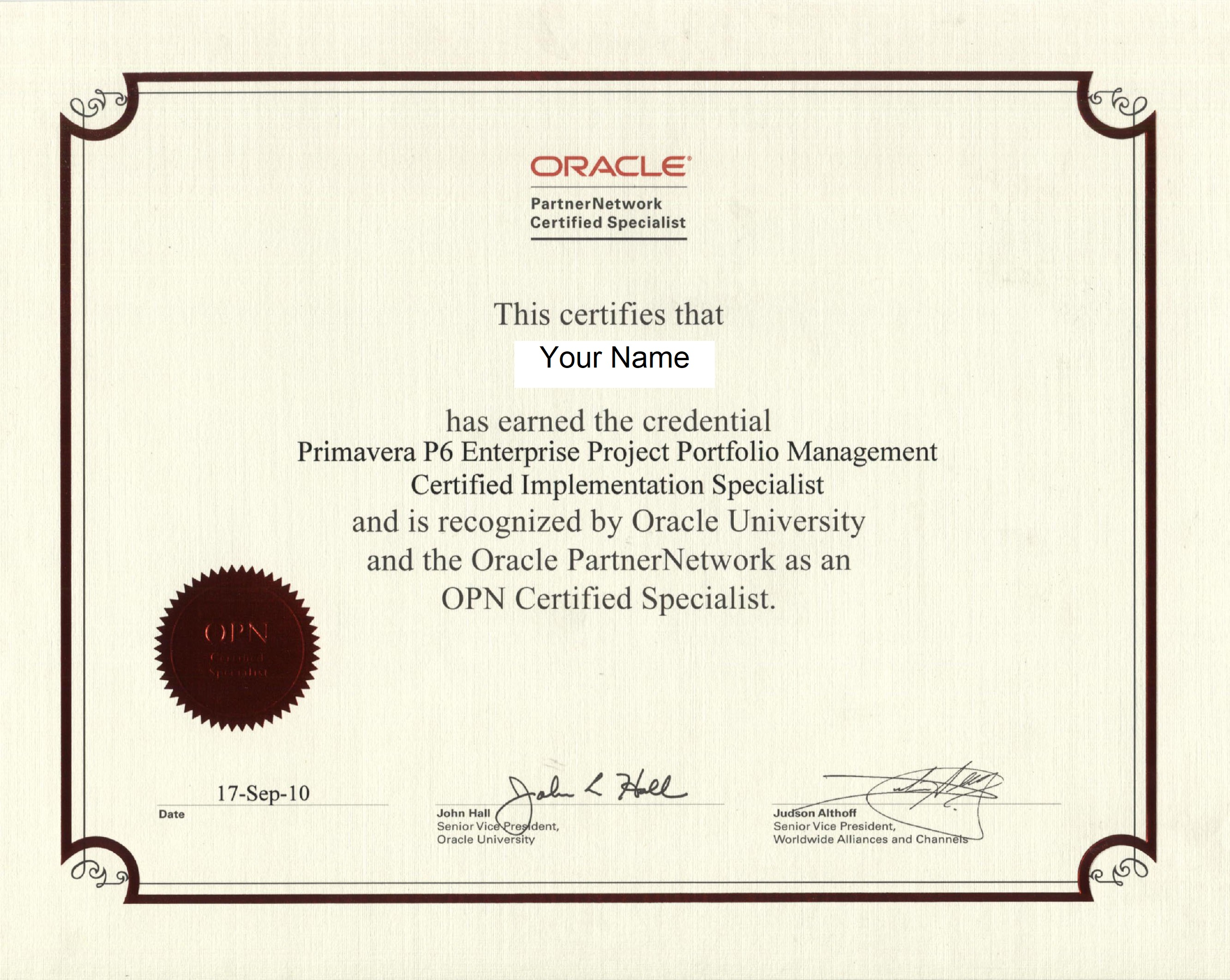 diploma certification