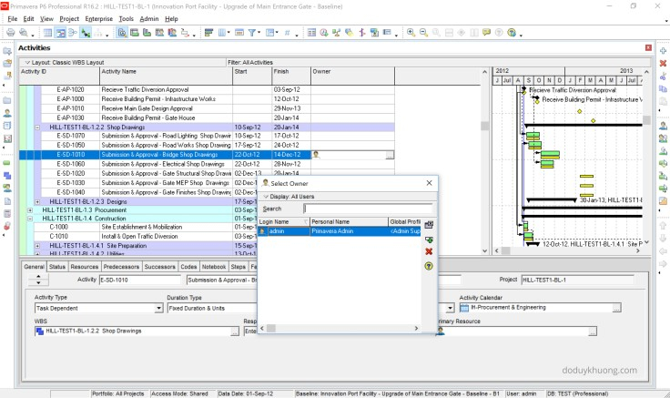 What's New in Primavera P6 Professional version 18.8-2