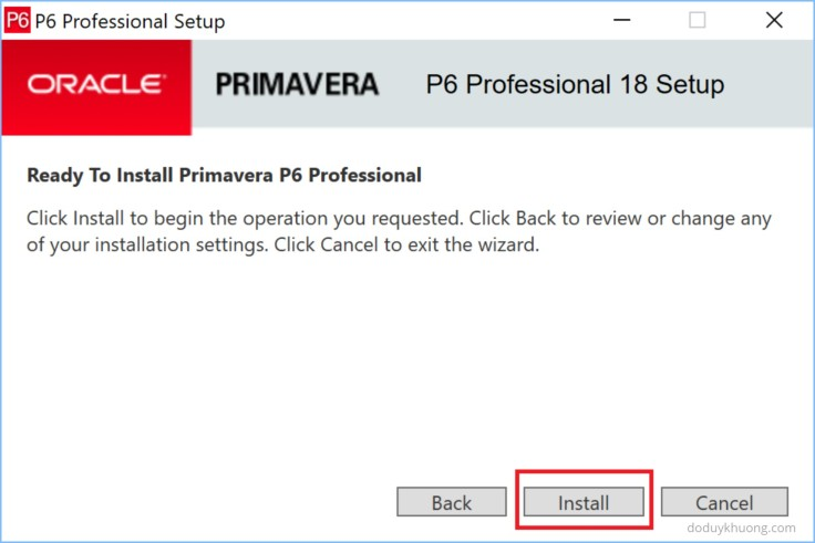How to Install 2 Primavera P6 versions on the same computer-3
