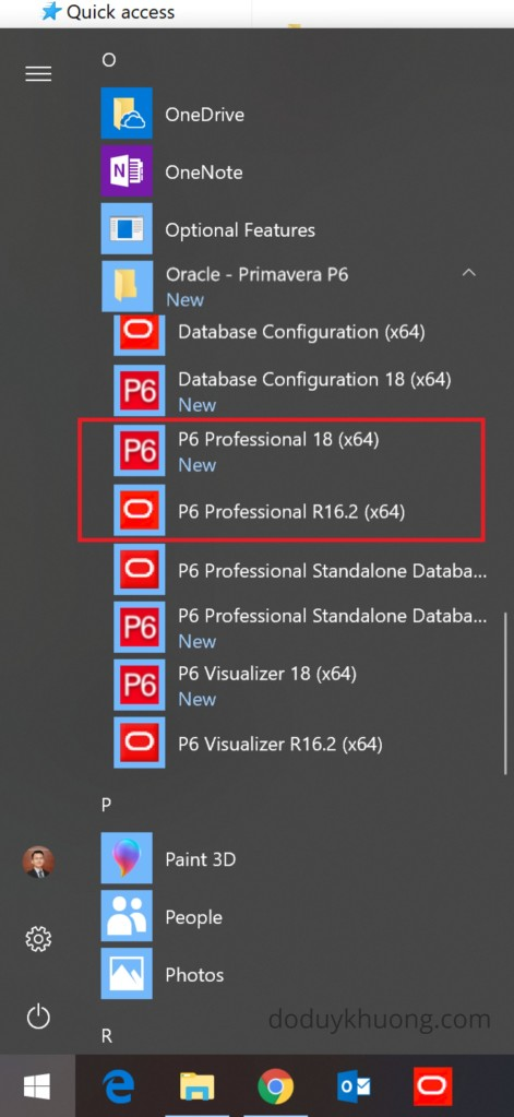 How to Install 2 Primavera P6 versions on the same computer-4