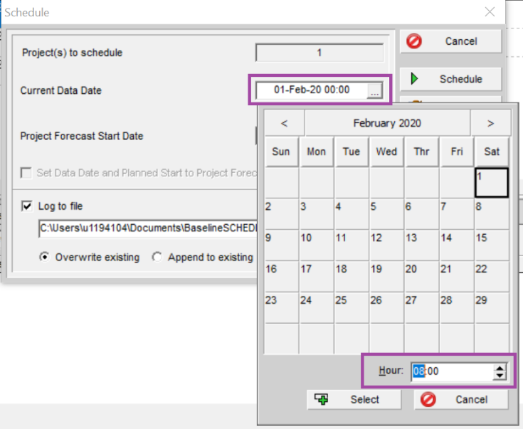How to remove the gap between actual bar and remaining bar in schedule update in Primavera P6-3